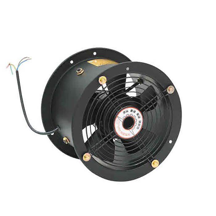 Ventilador axial de motor de rotor externo de tubo largo de 200MM
