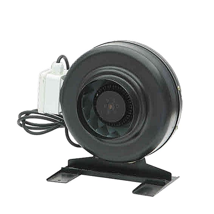 Ventilador con conductos en línea circular de acero de 100MM