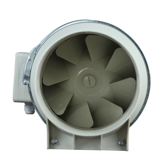 Ventilador de conducto en línea de Amplificador de flujo diagonal mixto 125MM