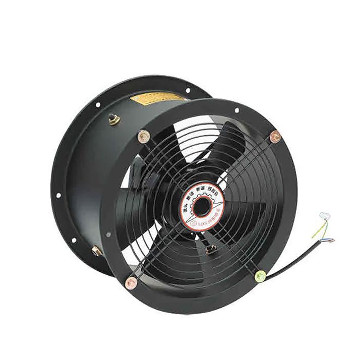 Ventilador de tubo largo axial con rotor de CA personalizable de 250MM