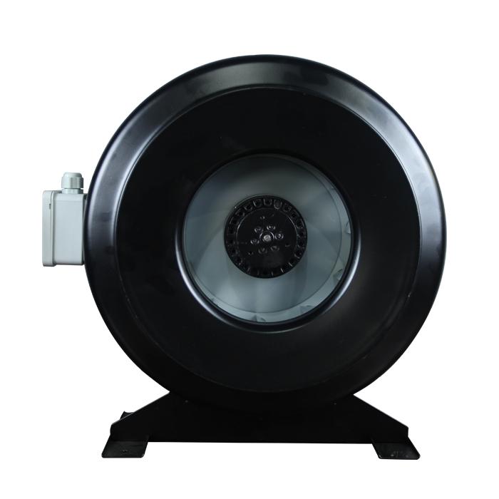 Ventilador centrífugo en línea de tubo circular CDR de 250MM
