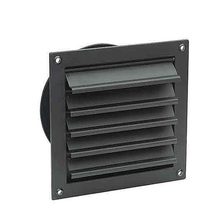 200MM Ventilador de pared de protección y obturador de escape de