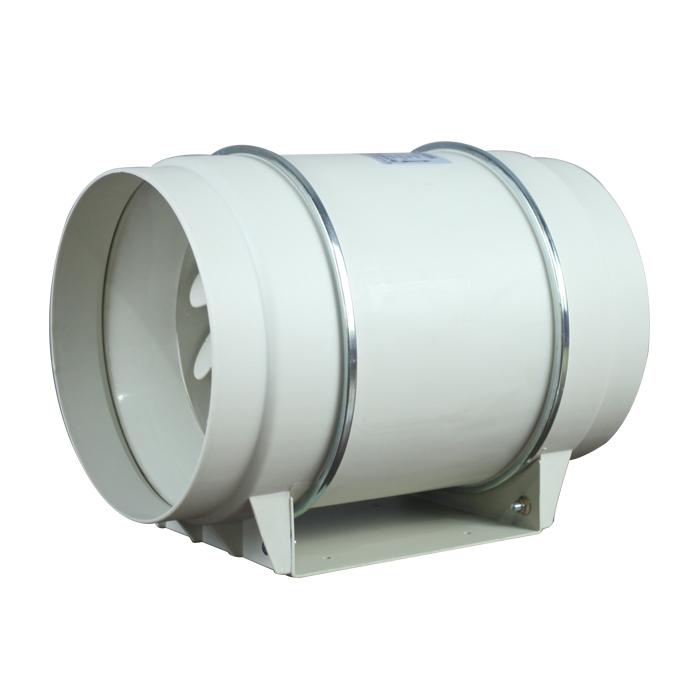 Ventilador circular de refuerzo de ventilación oblicua de 200MM
