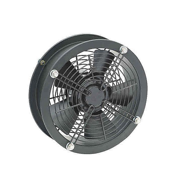 Ventilador de techo Ventilador axial con carcasa de conducto industrial