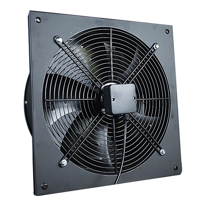 350MM Ventilador de placa axial de rotor de pared cuadrada de