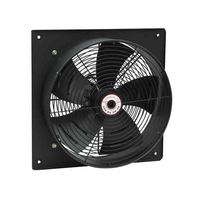 400MM Ventilador de pared axial eléctrico de acero cuadrado de
