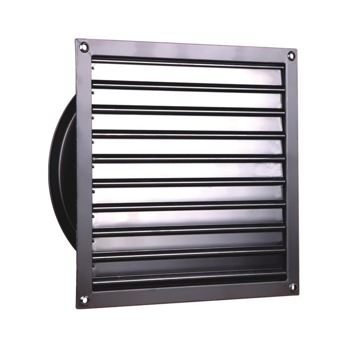 450MM Ventiladores de persiana ajustados a la luz Ventilador axial del obturador de