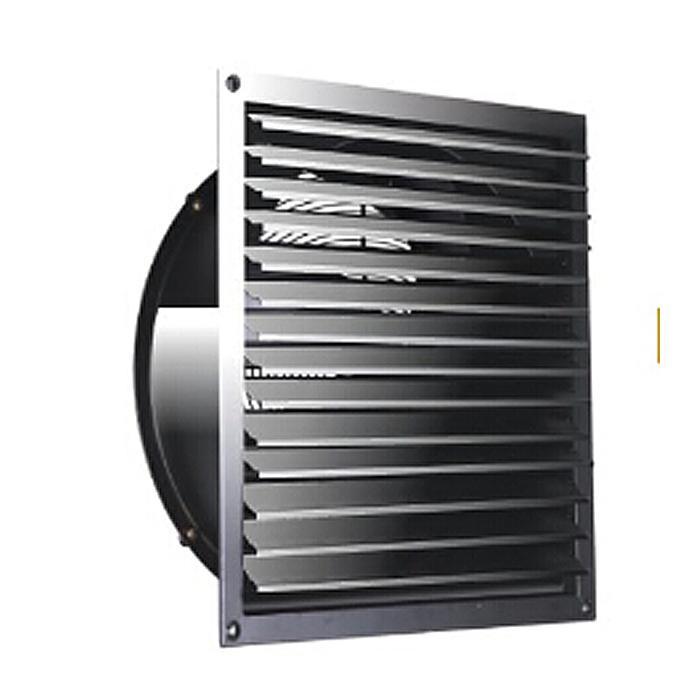 600MM Ventilador axial de escape de rejilla de ventana cuadrada de
